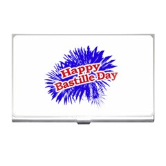 Happy Bastille Day Graphic Logo Business Card Holders by dflcprints