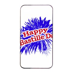 Happy Bastille Day Graphic Logo Apple Iphone 4/4s Seamless Case (black) by dflcprints