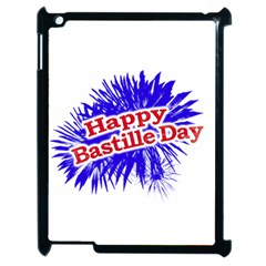 Happy Bastille Day Graphic Logo Apple Ipad 2 Case (black) by dflcprints