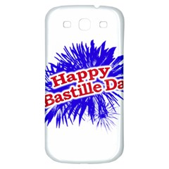 Happy Bastille Day Graphic Logo Samsung Galaxy S3 S Iii Classic Hardshell Back Case by dflcprints