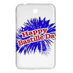 Happy Bastille Day Graphic Logo Samsung Galaxy Tab 3 (7 ) P3200 Hardshell Case  by dflcprints