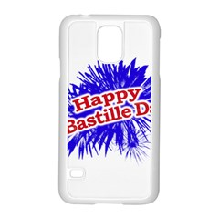 Happy Bastille Day Graphic Logo Samsung Galaxy S5 Case (white) by dflcprints