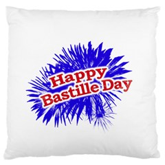 Happy Bastille Day Graphic Logo Standard Flano Cushion Case (two Sides) by dflcprints