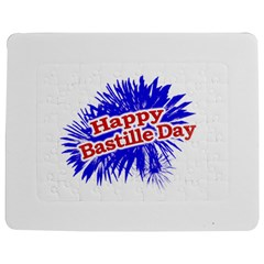 Happy Bastille Day Graphic Logo Jigsaw Puzzle Photo Stand (rectangular) by dflcprints