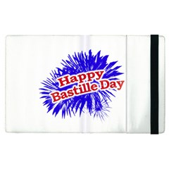 Happy Bastille Day Graphic Logo Apple Ipad Pro 9 7   Flip Case by dflcprints
