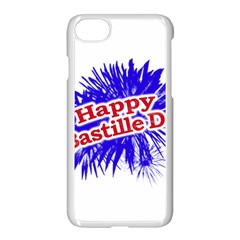 Happy Bastille Day Graphic Logo Apple Iphone 7 Seamless Case (white) by dflcprints