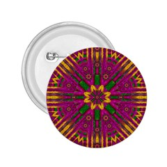 Feather Stars Mandala Pop Art 2 25  Buttons