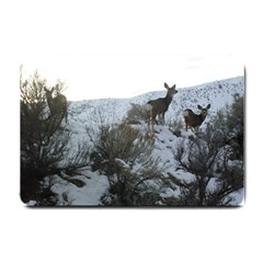 White Tail Deer 1 Small Doormat  by TailWags