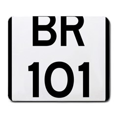 Brazil Br 101 Transcoastal Highway  Large Mousepads by abbeyz71