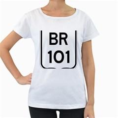 Brazil BR-101 Transcoastal Highway  Women s Loose-Fit T-Shirt (White) by abbeyz71