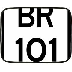 Brazil Br 101 Transcoastal Highway  Double Sided Fleece Blanket (mini)  by abbeyz71