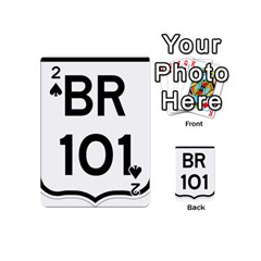 Brazil Br 101 Transcoastal Highway  Playing Cards 54 (mini)  by abbeyz71