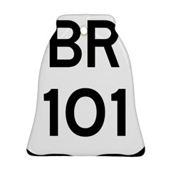 Brazil Br 101 Transcoastal Highway  Bell Ornament (two Sides) by abbeyz71