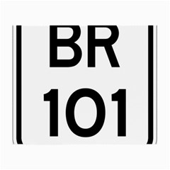 Brazil Br 101 Transcoastal Highway  Small Glasses Cloth (2 Side) by abbeyz71