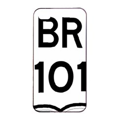 Brazil Br 101 Transcoastal Highway  Apple Iphone 4/4s Seamless Case (black) by abbeyz71