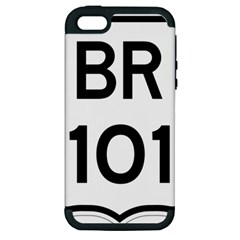 Brazil Br 101 Transcoastal Highway  Apple Iphone 5 Hardshell Case (pc+silicone) by abbeyz71