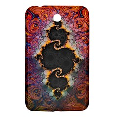 The Eye Of Julia, A Rainbow Fractal Paint Swirl Samsung Galaxy Tab 3 (7 ) P3200 Hardshell Case  by jayaprime