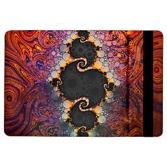The Eye Of Julia, A Rainbow Fractal Paint Swirl Ipad Air 2 Flip by beautifulfractals