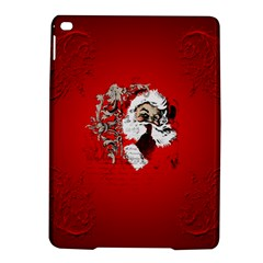 Funny Santa Claus  On Red Background Ipad Air 2 Hardshell Cases by FantasyWorld7