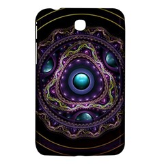 Beautiful Turquoise And Amethyst Fractal Jewelry Samsung Galaxy Tab 3 (7 ) P3200 Hardshell Case  by jayaprime