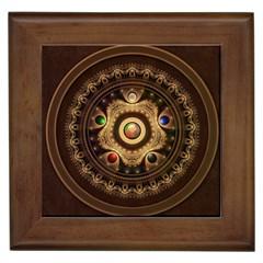 Gathering The Five Fractal Colors Of Magic Framed Tiles by jayaprime