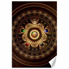 Gathering The Five Fractal Colors Of Magic Canvas 20  X 30   by beautifulfractals