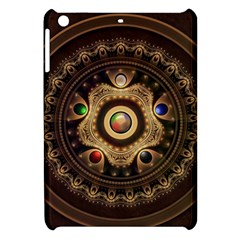 Gathering The Five Fractal Colors Of Magic Apple Ipad Mini Hardshell Case by beautifulfractals
