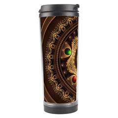 Gathering The Five Fractal Colors Of Magic Travel Tumbler by jayaprime