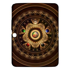 Gathering The Five Fractal Colors Of Magic Samsung Galaxy Tab 3 (10 1 ) P5200 Hardshell Case  by jayaprime