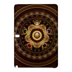 Gathering The Five Fractal Colors Of Magic Samsung Galaxy Tab Pro 10 1 Hardshell Case by beautifulfractals