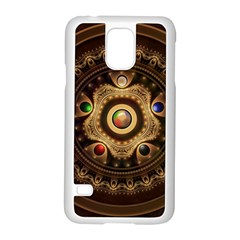 Gathering The Five Fractal Colors Of Magic Samsung Galaxy S5 Case (white) by beautifulfractals
