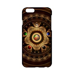 Gathering The Five Fractal Colors Of Magic Apple Iphone 6/6s Hardshell Case by jayaprime