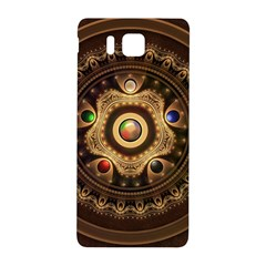 Gathering The Five Fractal Colors Of Magic Samsung Galaxy Alpha Hardshell Back Case by beautifulfractals