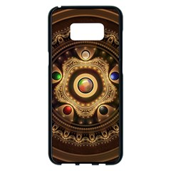 Gathering The Five Fractal Colors Of Magic Samsung Galaxy S8 Plus Black Seamless Case by beautifulfractals