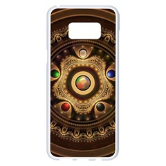 Gathering The Five Fractal Colors Of Magic Samsung Galaxy S8 Plus White Seamless Case by beautifulfractals