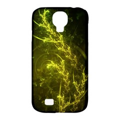 Beautiful Emerald Fairy Ferns In A Fractal Forest Samsung Galaxy S4 Classic Hardshell Case (pc+silicone) by beautifulfractals