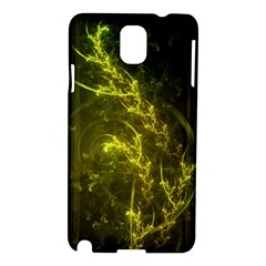 Beautiful Emerald Fairy Ferns In A Fractal Forest Samsung Galaxy Note 3 N9005 Hardshell Case by jayaprime