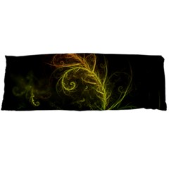 Fractal Hybrid Of Guzmania Tuti Fruitti And Ferns Body Pillow Case (dakimakura) by jayaprime