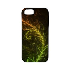 Fractal Hybrid Of Guzmania Tuti Fruitti And Ferns Apple Iphone 5 Classic Hardshell Case (pc+silicone) by beautifulfractals