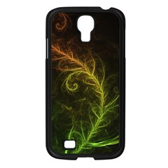 Fractal Hybrid Of Guzmania Tuti Fruitti And Ferns Samsung Galaxy S4 I9500/ I9505 Case (black) by beautifulfractals