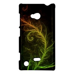 Fractal Hybrid Of Guzmania Tuti Fruitti And Ferns Nokia Lumia 720 by beautifulfractals