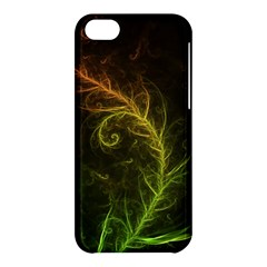Fractal Hybrid Of Guzmania Tuti Fruitti And Ferns Apple Iphone 5c Hardshell Case by beautifulfractals