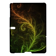 Fractal Hybrid Of Guzmania Tuti Fruitti And Ferns Samsung Galaxy Tab S (10 5 ) Hardshell Case  by beautifulfractals