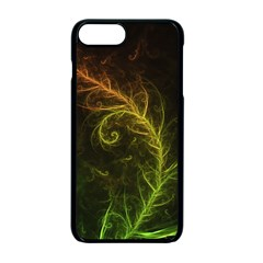 Fractal Hybrid Of Guzmania Tuti Fruitti And Ferns Apple Iphone 7 Plus Seamless Case (black) by jayaprime