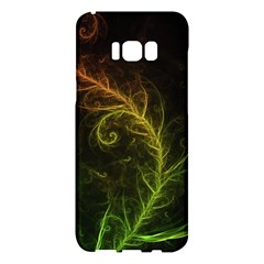 Fractal Hybrid Of Guzmania Tuti Fruitti And Ferns Samsung Galaxy S8 Plus Hardshell Case  by beautifulfractals