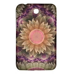 Pastel Pearl Lotus Garden Of Fractal Dahlia Flowers Samsung Galaxy Tab 3 (7 ) P3200 Hardshell Case  by jayaprime