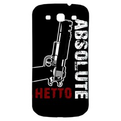 Absolute Ghetto Samsung Galaxy S3 S Iii Classic Hardshell Back Case by Valentinaart