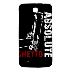 Absolute Ghetto Samsung Galaxy Mega I9200 Hardshell Back Case by Valentinaart