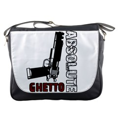 Absolute Ghetto Messenger Bags by Valentinaart