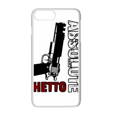 Absolute Ghetto Apple Iphone 7 Plus White Seamless Case by Valentinaart